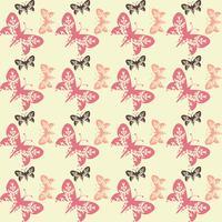 Fond papillon tuile sans couture