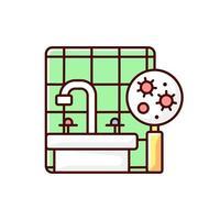 icône de couleur de moule rgb vecteur