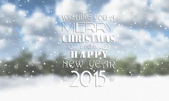 Fond de Noël et nouvel an vecteur