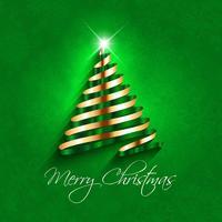 Abstrait arbre de Noël vecteur