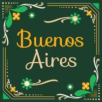 Vecteur de Fileteado Buenos Aires