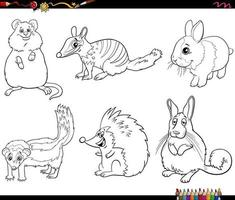 page de livre de coloriage vecteur