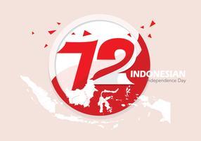 Vecteur de fierté indonésienne