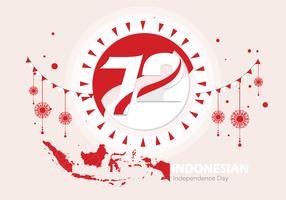 Fierté indonésienne Vol 2 vecteur
