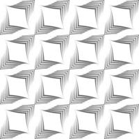 modèle vectorielle continue de lignes inégales tracées par un stylo sous la forme de coins. vecteur