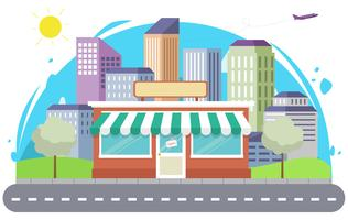 Illustration de vecteur Cityscape