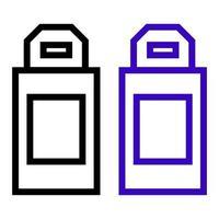 icône de lecteur usb sur fond vecteur