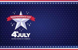 fond de la fête de l'indépendance des États-Unis vecteur