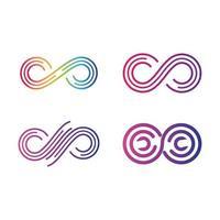 images du logo infini vecteur