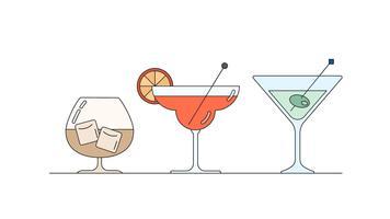 Vecteur de boissons