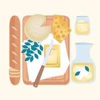 Illustration de vecteur alimentaire