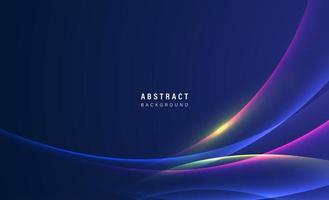 fond géométrique abstrait. conception fluide de forme et d'éléments pour la publicité et la bannière. vecteur