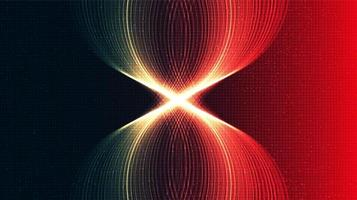 fond de technologie de lumière de vitesse vecteur