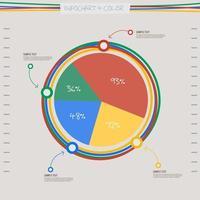 graphique graphique infographique vecteur