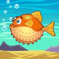 Dessin animé de poisson 3
