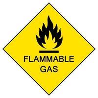 Signe de symbole lpg inflammable isoler sur fond blanc, illustration vectorielle eps.10 vecteur
