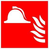 Collection de signe de symbole d'équipement de lutte contre l'incendie isoler sur fond blanc, illustration vectorielle eps.10 vecteur