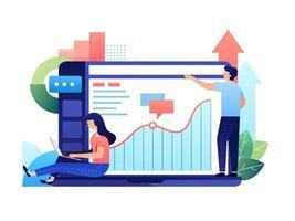 gestion de la relation client vecteur