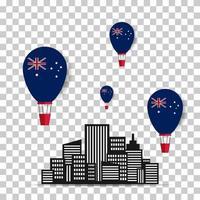 bonne journée australie 26 janvier concept de design. jour de l'indépendance. illustration vectorielle vecteur