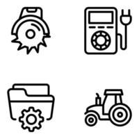 industrie et appareils vecteur