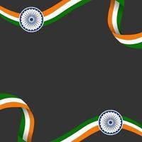 jour de la république indienne vecteur
