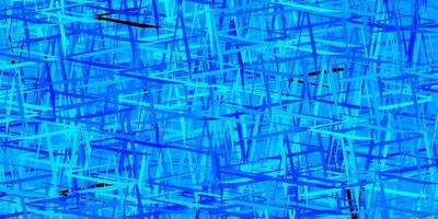 texture de vecteur bleu foncé, vert avec des lignes colorées.