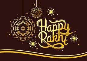 Rakhi heureux vecteur