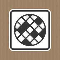 Filtre signe de changement de symbole isoler sur fond blanc, illustration vectorielle eps.10 vecteur