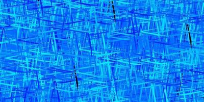 texture de vecteur bleu foncé, jaune avec des lignes colorées.