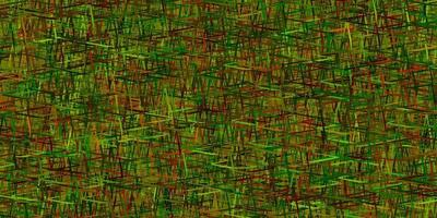 texture de vecteur multicolore sombre avec des lignes colorées.