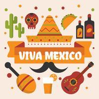 Vecteur de Viva Mexico