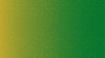 fond de technologie verte et jaune, conception de concept numérique et de communication de haute technologie, espace libre pour le texte en place, illustration vectorielle. vecteur