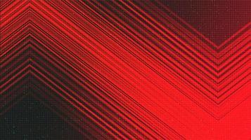 fond de technologie rouge foncé, conception de concept numérique et de connexion, illustration vectorielle. vecteur