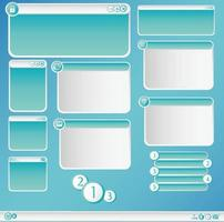 boîte de dialogue graphique vecteur