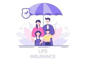 L'assurance-vie est utilisée pour les fonds de pension, les soins de santé, les finances, les services médicaux et la protection vecteur