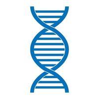 Modèle abstrait de structure en hélice torsadée scientifique médicale des gènes de l'ADN vecteur