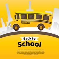 Bus scolaire vecteur