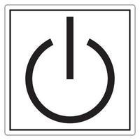 signe de symbole de veille, illustration vectorielle, isoler sur l'étiquette de fond blanc. eps10 vecteur