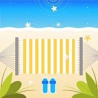 Illustration d'été belle Vector