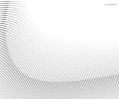 abstrait rayé diagonal déformé. vecteur courbe torsadée inclinée, texture de lignes ondulées. tout nouveau style pour la conception de votre entreprise.