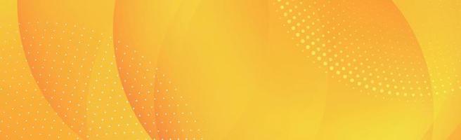 abstrait orange avec des lignes ondulées et des points - vector