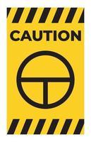 on off signe symbole bouton poussoir sur fond blanc vecteur