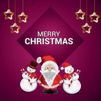 fond de Noël avec illustration réaliste avec des cadeaux vecteur