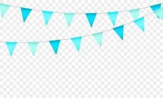 drapeau bleu concept design modèle vacances bonne journée, illustration vectorielle de fond célébration. vecteur