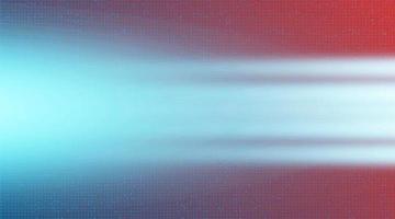 circuit de lumière de vitesse avec technologie de réseau sur fond rose, conception de concept numérique et de connexion, illustration vectorielle. vecteur