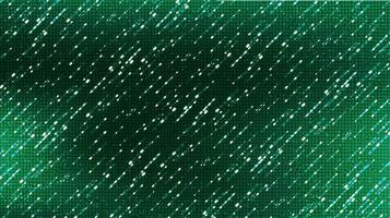 fond de technologie de micropuce de circuit vert clair, conception de concept de tempête de météore numérique et électronique de pointe, espace libre pour le texte en place, illustration vectorielle. vecteur
