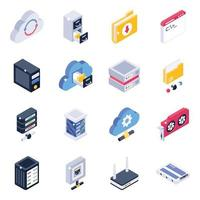 gestion des données du serveur de données vecteur