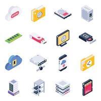 stockage et communication des données vecteur