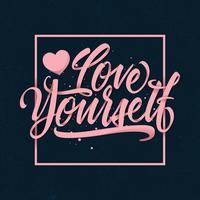 Aimez-vous la typographie vecteur
