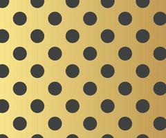 motif de pois or, fond coloré - fond abstrait de vecteur